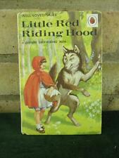 Vintage Ladybird book Little red Riding hood series 606D Well loved tales 24p