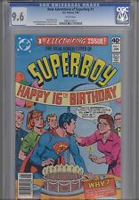 The New Adventures of Superboy #1  CGC 9.6 1980 with 16th Birthday Party