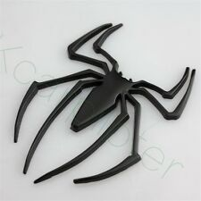1Pcs Metal Black Spider-Man Logo Car Side Door Rear Trunk Lid Sticker Emblems
