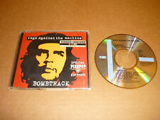 *RAGE AGAINST THE MACHINE CD AUSTRIA BOMBTRACK STIKER TORHOUT/WERCHTER