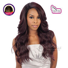 Equal Synthetic Invisible Lace Front L Part Wig Danity