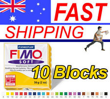 FIMO Soft Polymer Clay 56g Block - 10 Blocks - Choice of 24 colours
