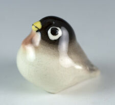 Vintage Miniature Hagen Renaker Baby Robin Figurine With White Eyes #168a 1952