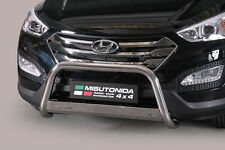 "Hyundai Santa Fe 2012-UP Ø63mm BULL BAR NUDGE BAR LEGAL""CE APPROVED"" Frontbügel"
