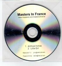 (DQ326) Masters In France, Artificial Inches / Little Girl - DJ CD