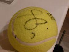 LUKAS ROSOL CZECH SIGNED AUTOGRAPH Tennis Ball Dubai Duty Free Championship