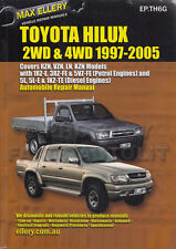 Toyota Hilux Pickup Truck Shop Manual Ellery 2005 2004 2003 2002 2001 Service