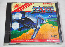 NEC PC ENGINE Hu card XEVIOUS namco namcot TurboGrafx16 Japan #2