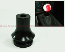 M10 X 1.25 BLK ALUMINUM GEAR SHIFT KNOB BOOT RETAINER ADAPTER FITS MITSUBISHI
