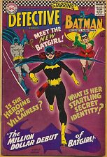 Detective Comics #359 DC 1967, Intro Origin of Barbara Gordon as Batgirl