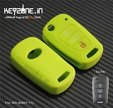 Original KeyZone Silicone Key Cover fit for old i20 (2007-11) Apple Green Color