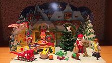 Playmobil 3976 Adventskalender Weihnachtsmarkt von 1999 Rarität