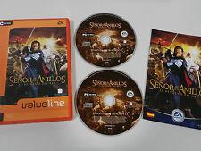 EL SEÑOR DE LOS ANILLOS EL RETORNO DEL REY JUEGO PC 2 X CD-ROM ESPAÑOL EA VALUE