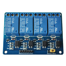 5V 4-Channel Relay Module Shield For ArduIno Arm PIC AVR DSP LW SZUS