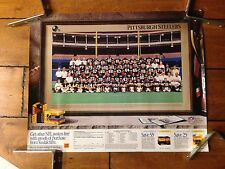 "1991 PITTSBURGH STEELERS TEAM POSTER 22"" X 17.5"" KODAK"