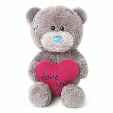 "Me to You 4"" Love You Soft Plush & Heart Gift For Partner - Tatty Teddy Bear"
