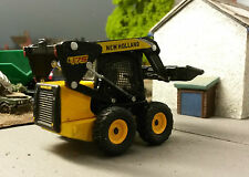New Holland C185 Wheeled Skidsteer 1:87 HO/OO Cararama Motorart Model Box Damage