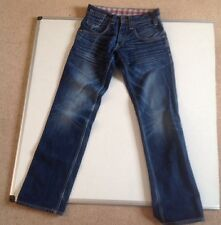 "LADIES RARE LEVI 562 STRAIGHT LEG FADED BLUE SEXY JEANS W28"" L34"" MINT (RR56)"