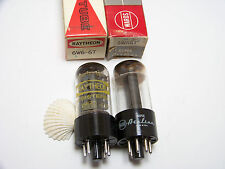 2  6W6GT Replacement Stereo Amp Tube Part NOS NIB