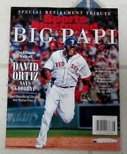 No Label SPORTS Illustrated 2016 Special Issue BIG PAPI Ortiz RETIREMENT ISSUE