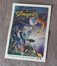 Timespirits 1984 Stephen Perry Thomas Yeates AVATAR? Epic Marvel PROMO Poster FN
