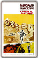 NORTH BY NORTHWEST ALFRED HITCHCOCK 1959 FRIDGE MAGNET IMAN NEVERA
