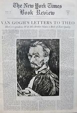 VINCENT VAN GOGH'S LETTERS TO THEO - SUPREME COURT - McKINLEY 5-1937 May 30