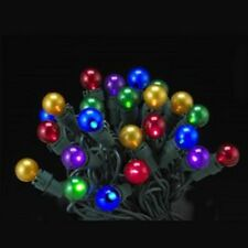 "KSA ""50L LED MULTI COLOR PEARLIZED MINI BALL LIGHT SET"" NEW ~ MIB ~ PRETTY"