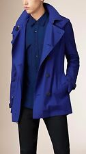 NWT BURBERRY $995 KENSINGTON  MENS DOUBLE BREASTED TRENCH COAT JACKET SZ XXL
