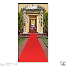 "HOLLYWOOD Movie Night Awards Party Prop ""RED CARPET"" Floor RUNNER 2 ft x 15ft"