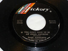 Ernie Ashworth: You Don't Have to be a n Angel.../ I Feel Better...  [Unplayed]
