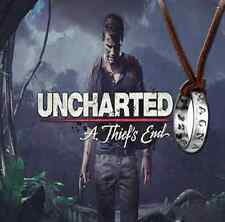 NEW Uncharted 4 A Thief's End Nathan Drake's Ring Necklace Game Cosplay Pendant