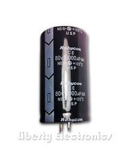 NEW 15000uF - 80V ELECTROLYTIC CAPACITOR 60x35mm