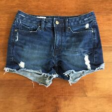 Women's GAP 1969 Destroyed Slim Cut-offs Jean Shorts, Size 25r, GREAT CONDITION!