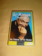 """Guy Montagné """"Inédits"""" VHS Spectacle Au Théâtre de 10 Heures"""