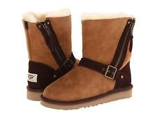 UGG AUSTRALIA SHORT BLAISE BOOTS CHESTNUT Size 6 Youth Fits WOMENS Size 8 NEW