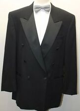 Oscar De La Renta Men's Tuxedo Blazer Black 42R Pure Virgin Wool Canada
