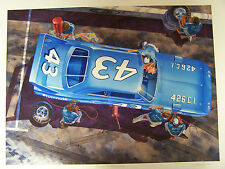 PLYMOUTH SUPER BIRD ART 426 VINTAGE NASCAR #43 RICHARD PETTY 1970 DAYTONA 500 70