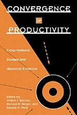 Convergence of Productivity: Cross-National Studies and Historical Evidence