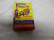 Vintage monkey grip rubber patch container box bike bicycle tire repair