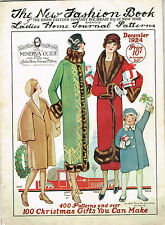 1920s Ladies Home Journal New Fashion Book 1924 Pattern Catalog Ebook Copy on CD