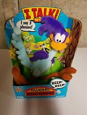 Talking Road Runner Plush Toy Box & Tags By Tyco 1994 Works!!!