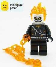 sh267 Lego Marvel Super Heroes Spider-Man 76058 - Ghost Rider Minifigure - New