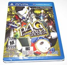 Persona 4 Golden for Playstation Vita Brand New, Factory Sealed!