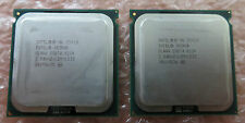 2x Intel Xeon Quad Core E5420 2.5Ghz/12M LGA771 Processor CPU Step Code SLANV