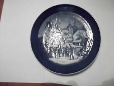 ROYAL COPENHAGEN 1997 CHRISTMAS COLLECTOR PLATE - ROSKILDE CATHEDRAL