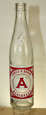 CHARLOTTE NC CIRCLE A BRAND BEVERAGES SODA BOTTLE 10 OZ ACL NICE!!