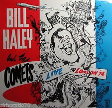 BILL HALEY and the COMETS Live In London 1974 LP