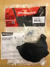 HUSQVARNA  FE 250  350  2014-2016 CLUTCH COVER PROTECTOR GUARD BLACK