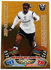 match attax 2011/2012 jay-jay okocha/golden moment card